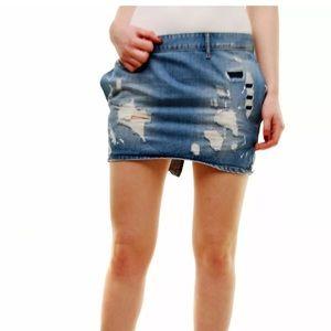 ONETEASPOON BLUE MOON MINI SKIRT FREELOVE Size 26